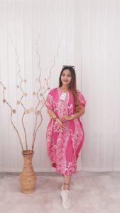 Baju Daster Kelelawar Batik Rayon Bahan Adem