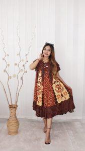 Daster Batik Printing Murah Payung Klok Pendek