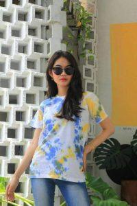 Kaos Premium Tie Dye T Shirt Oversize Polos Murah
