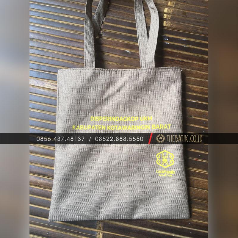 Tas Goodie Bag Souvenir Disperindagkop UKM - Pemkab KOTAWARINGIN BARAT