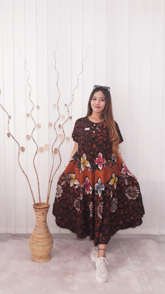 Baju Daster Batik Klok Payung Bahan Santung Super