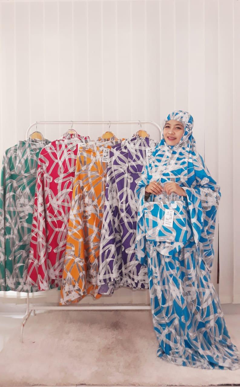 Hampers Mukena Batik Murah Bahan Santung Rayon